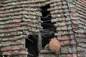 crollo tetto pavone